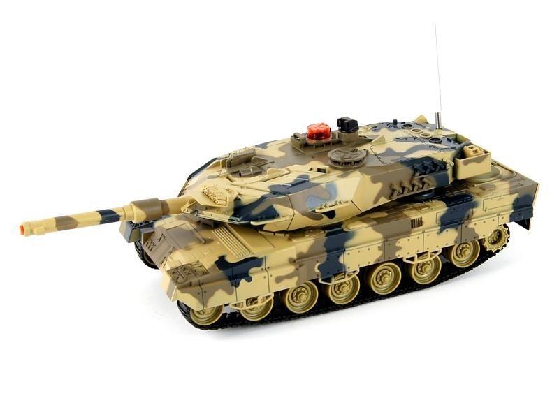 Танк Huan Qi Leopard, 1:24, ИК-пушка