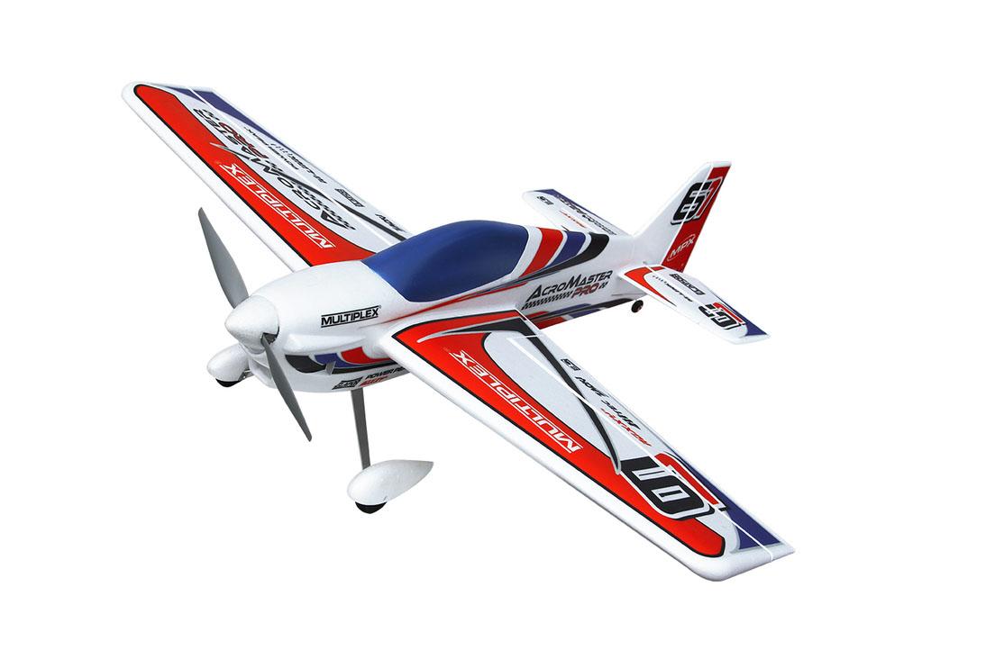 Радиоуправляемый самолет ACROMASTER PRO, электро, RR, 1100мм