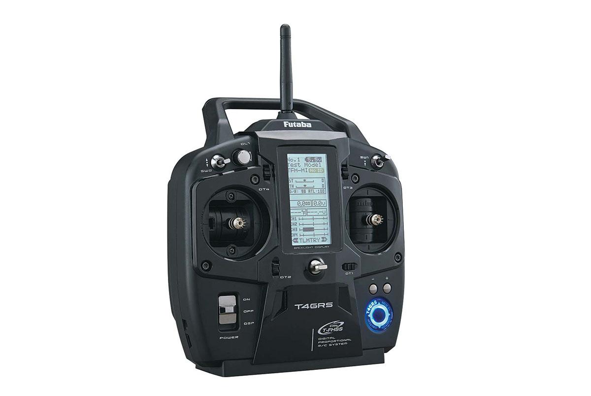 Аппаратура радиоуправления 4 канала, FUTABA 4GRS+R304SB (TX, RX)