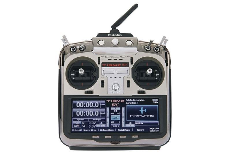 Аппаратура радиоуправления 18 каналов, FUTABA 18MZ WC (TX, RX)