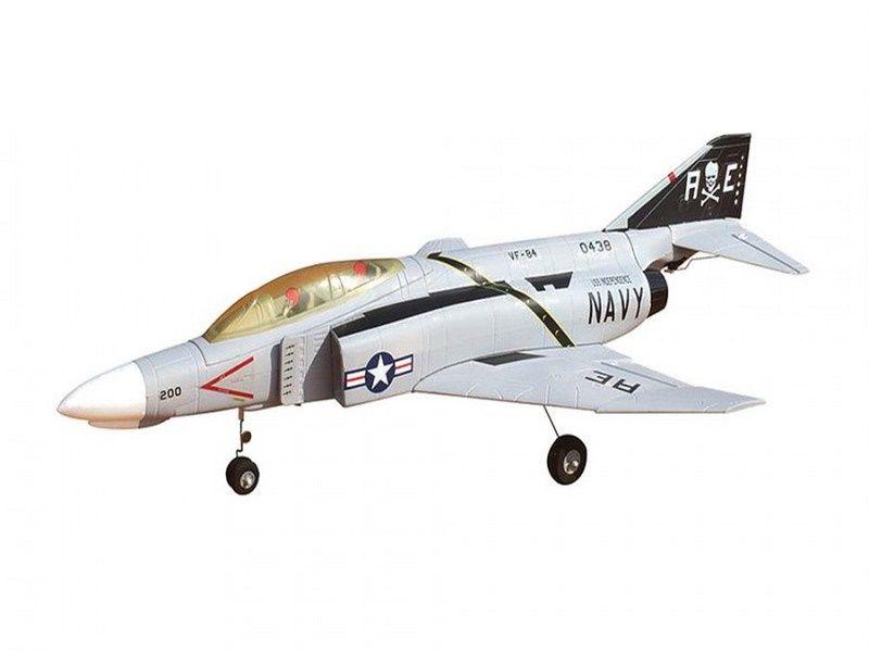 Радиоуправляемый самолёт F4 Phantom II, электро, PNP, 628мм