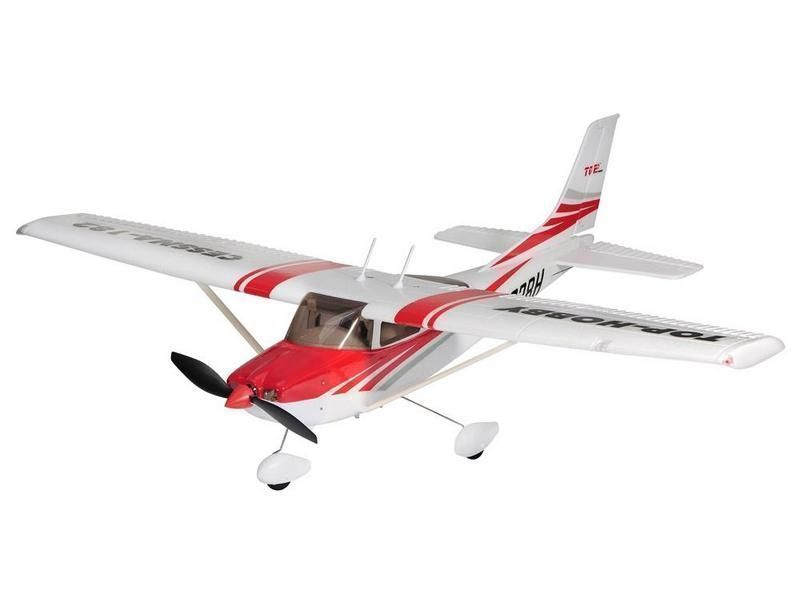 Радиоуправляемый самолёт CESSNA 182, электро, PNP, 965мм красн.