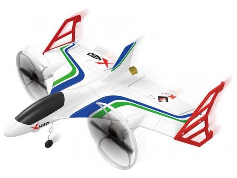 Радиоуправляемый самолёт X420, электро, RTF, 420мм