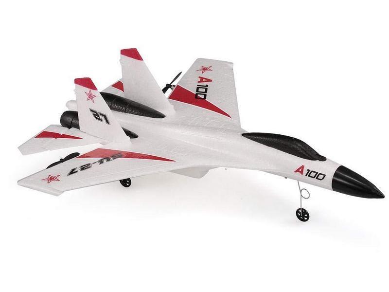 Радиоуправляемый самолёт SU27, электро, RTF, 340мм