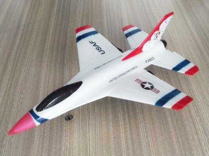 CTF F16 Thunderbirds FX-823, электро, RTF, 290мм
