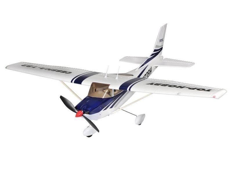 Радиоуправляемый самолёт CESSNA 182, электро, PNP, 965мм синяя
