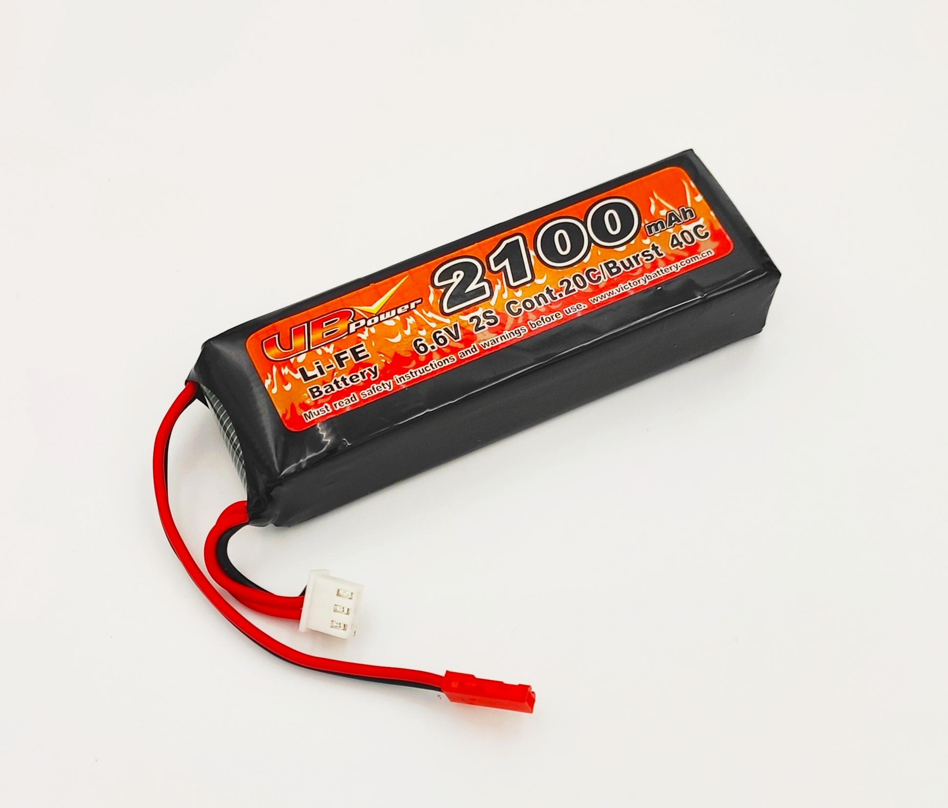 Аккубулятор для бортового питания LiFiPO4 2100mA/h, 6.6V