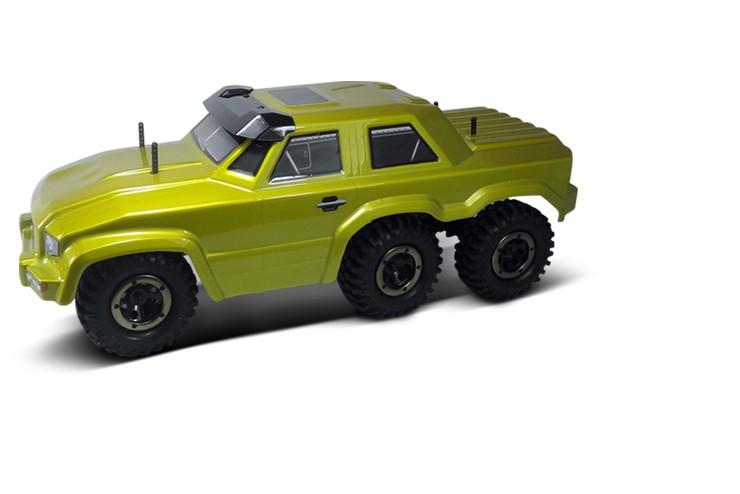 Шестиколесный краулер HSP 6WD 1:16 2.4G