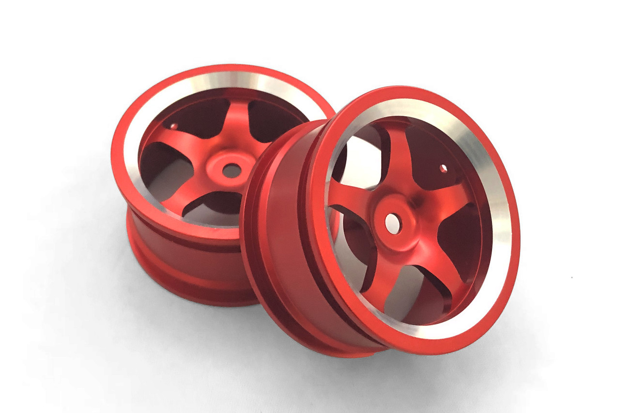 RH Алюминиевые диски, красные, Remo Hobby 1/16, 4шт