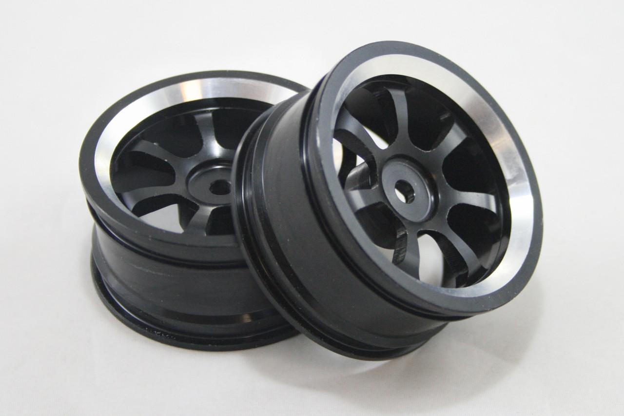RH Алюминиевые диски, черные, Remo Hobby 1/16, 4шт