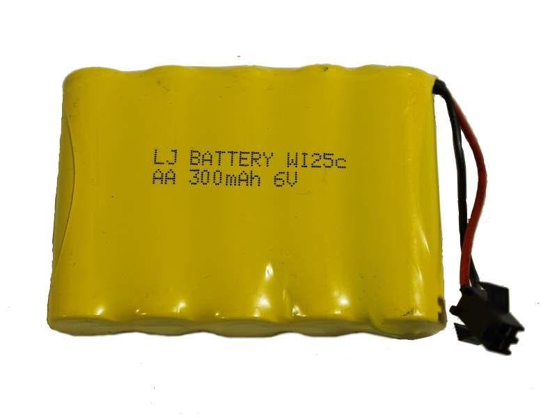 Аккумуляторная батарея 6В/300мАч SM