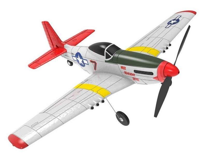 Volantex RC P51D, 400мм,, стабилизация ,RTF