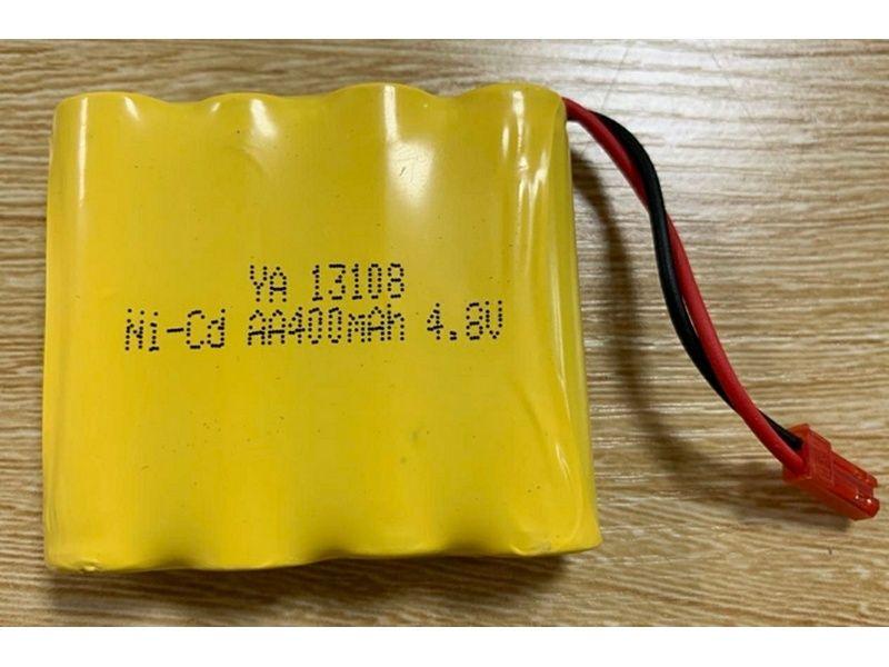 Аккумулятор Ni-Cd 400mAh, 4.8V, JST для Huina 1331