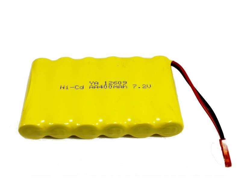 Аккумулятор Ni-Cd 400mAh, 7.2V, JST для Huina