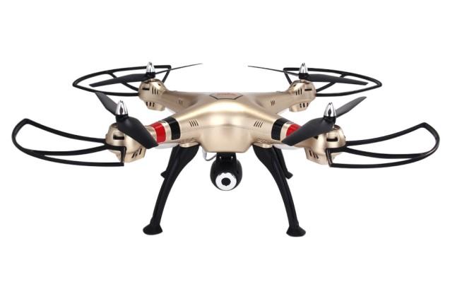 Квадрокоптер SYMA-X8HC с камерой, с удержанием высоты